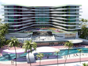 Temptation Cancun Resort Sexy Pool