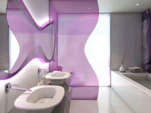 Temptation Cancun Resort Ocean Front Master Suite Bathroom