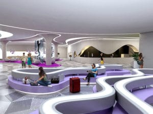 Temptation Cancun Resort Lobby