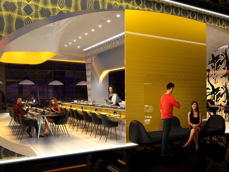 Temptation Cancun Resort Sutra Restaurant