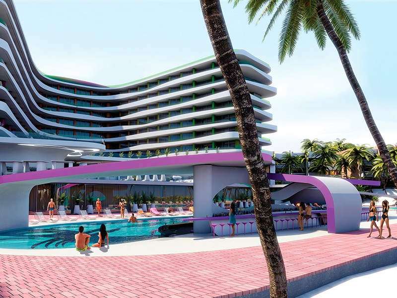 Temptation Cancun Resort | Boost Pool Bar