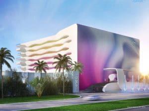 Temptation Cancun Resort Facade