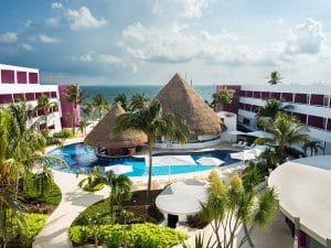 Temptation Cancun Resort Quiet Pool