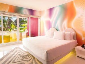Temptation Cancun Resort Plush jacuzzi Room Pool View