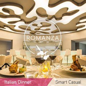 Temptation Cancun Resort Romanza Italian Dinner