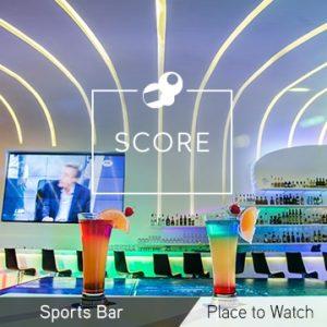 Temptation Cancun Resort Score Sports Bar