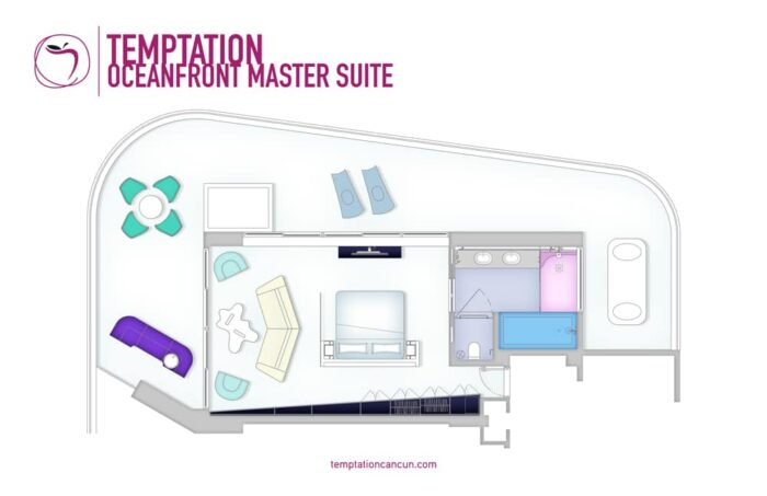 Temptation Cancun Resort Oceafront Master Suites