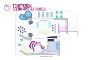 Temptation Cancun Resort Oceafront Penthouses