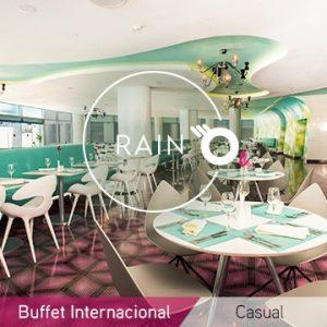 Temptation Cancún Resort restaurante Rain Buffet Internacional