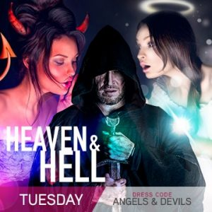 Temptation Cancun Resort | Tuesday Heaven & Hell