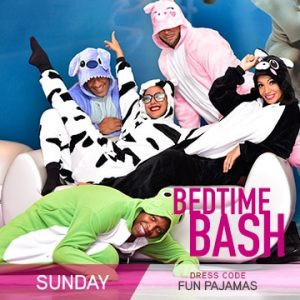 Temptation Cancun Resort | Sunday Bedtime Bash Party