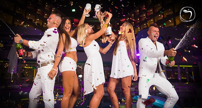 Temptation Cancun Resort | New Year's Eve Bash