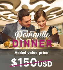 Temptation Cancun Resort Romantic Dinner Added Value