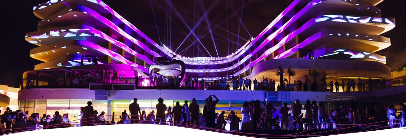 Temptation Cancun Resort Special Events