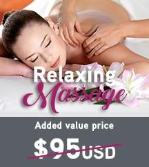 Temptation Cancun Resort Relaxing Massage Added Value