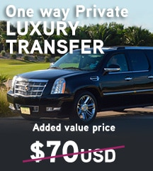 Temptation Cancun Resort One Way Transfer Added Values