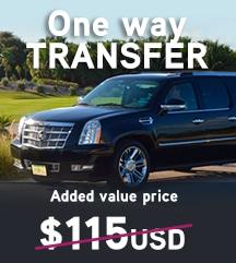Temptation Cancun Resort One Way Transfer Added Value