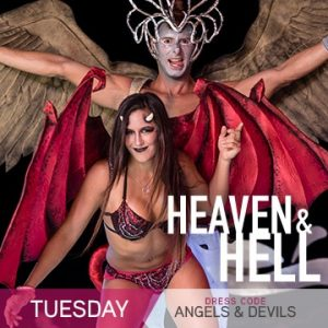 Temptation Cancun Resorts | Heaven & Hell Theme Night