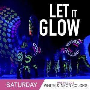 Temptation Cancun Resort | Let It Glow Theme Night