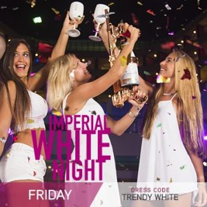 Temptation Cancun Resort | Imperial White Theme Night