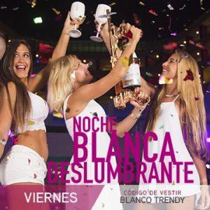 Temptation Cancun Resort | Noche Blanca Deslumbrante Noche Tema