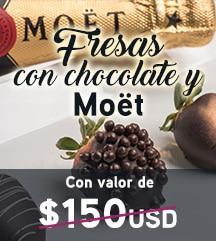 Temptation Cancun Resort | Fresas con Chocolate & Moët