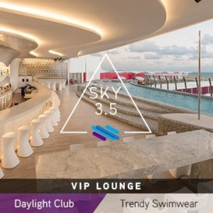 Temptation Cancun Resort | SKY 3.5 VIP Lounge