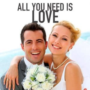 Temptation Cancun Resort   All You Need Is Love Wedding Package