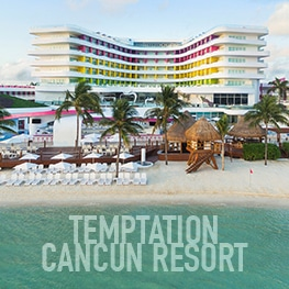 Temptation Cancun Resort | All Inclusive Topless Resort
