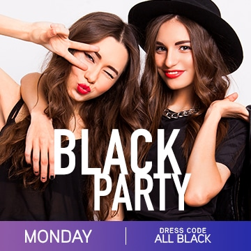 Temptation cancun Resort Pride Week Black party