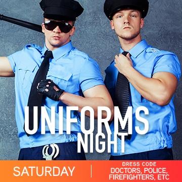 Temptation cancun Resort Pride Week Uniforms Night Party