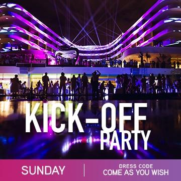 Temptation cancun Resort Pride Week Kick-Off Party