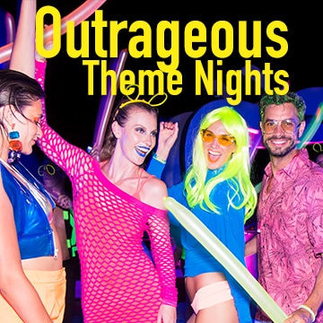Temptation Cancun Resort Pride Week Theme Nights
