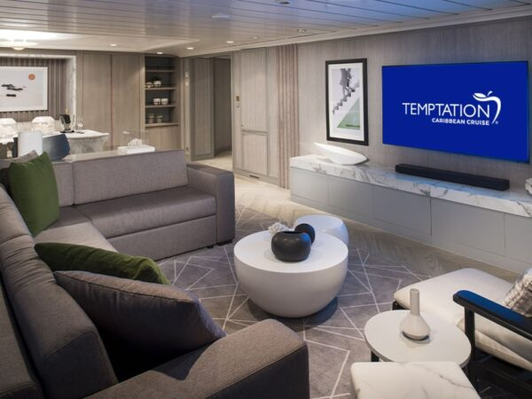 Temptation Caribbean Cruise 2022 - Suites & Staterooms